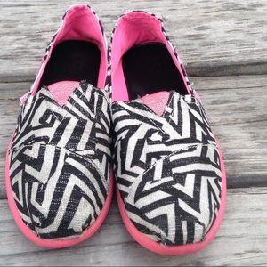 Sketchers Bobs zebra pink
